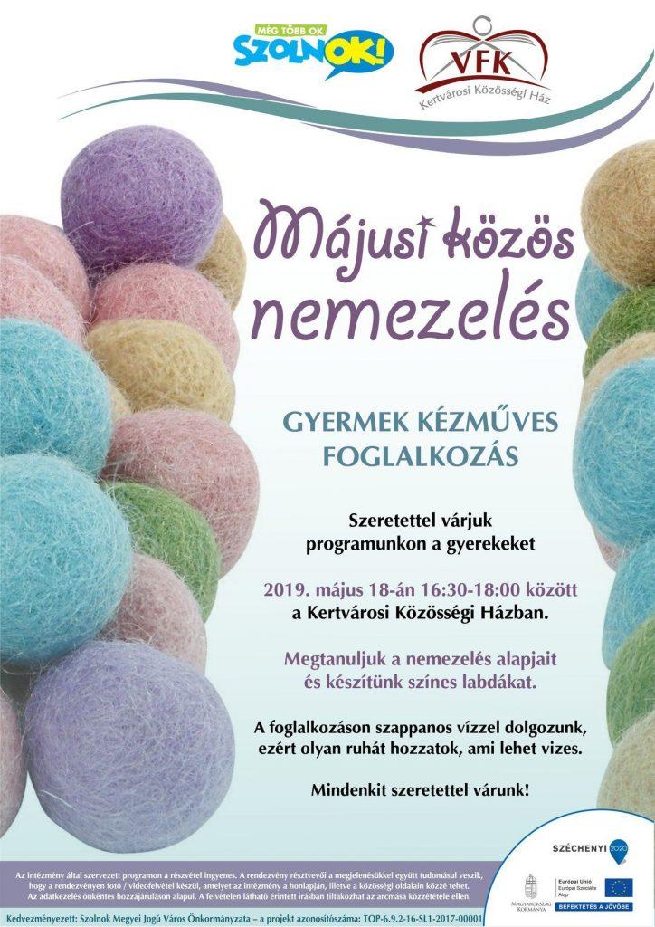 Nemezelés plakátja