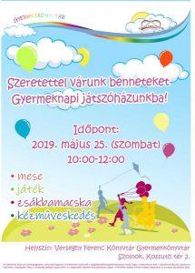 gyermeknapi program plakátja