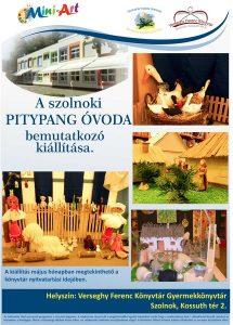 MiniArt kiállítás plakátja