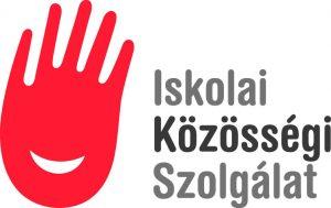 iskolai közösségi szolgálat emblémája a piros nyitott tenyér