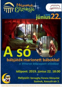 marionett báb plakátja